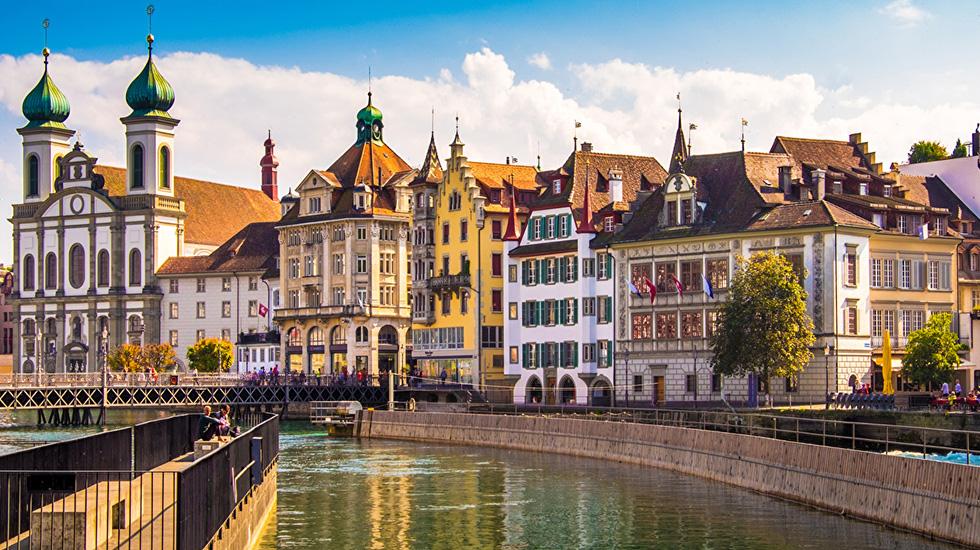 Lucerne - Du lịch Thụy Sĩ
