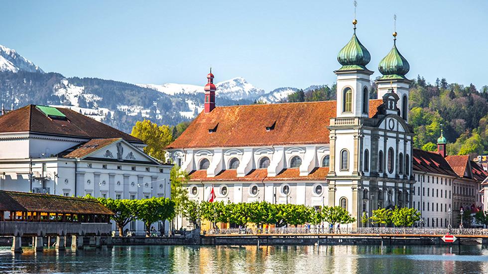 Lucerne - Tour Thụy Sĩ