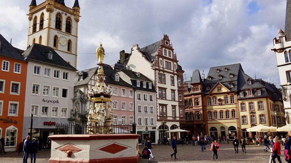 Main Market Trier - Du lịch Đức