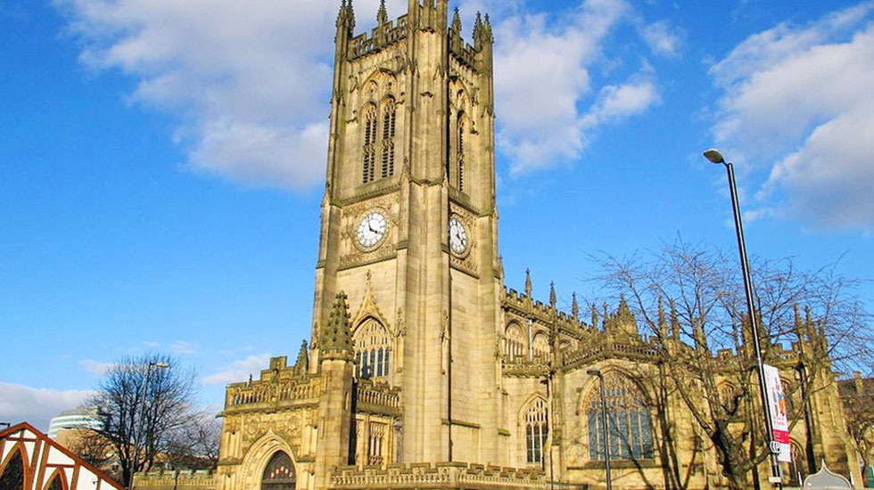 Manchester Cathedral-Tour tham quan du lịch Anh giá rẻ