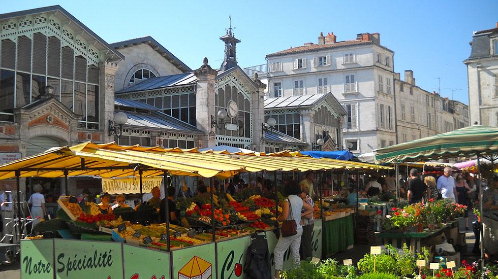 Marché de la Rochelle - Tour Du Lịch Pháp