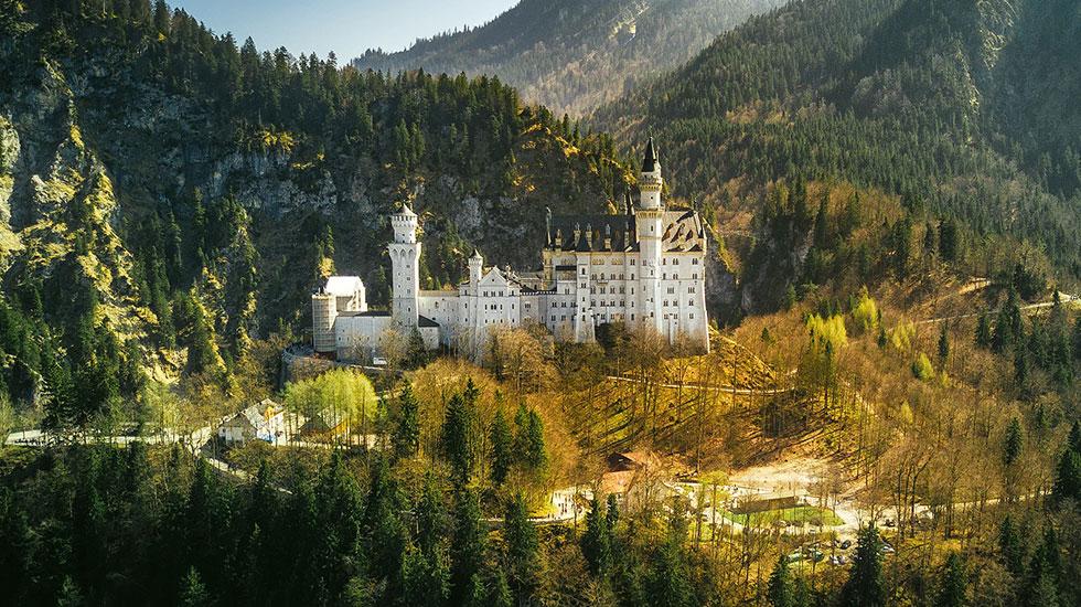 Neuschawanstein-Du lịch Đức