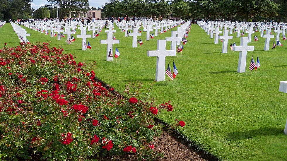 Nghĩa-trang-Normandie - Tour Du Lịch Pháp