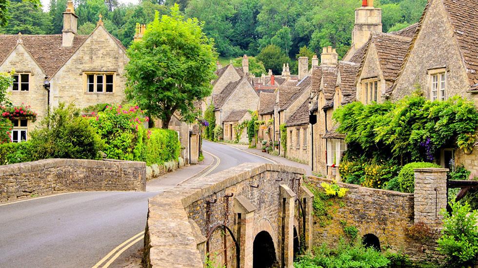 Ngôi làng xinh đẹp Costwolds - Du lịch Anh