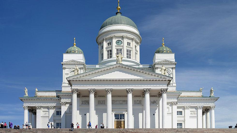 Nhà Thờ Chính Helsinki - Tour Du Lịch Phần Lan