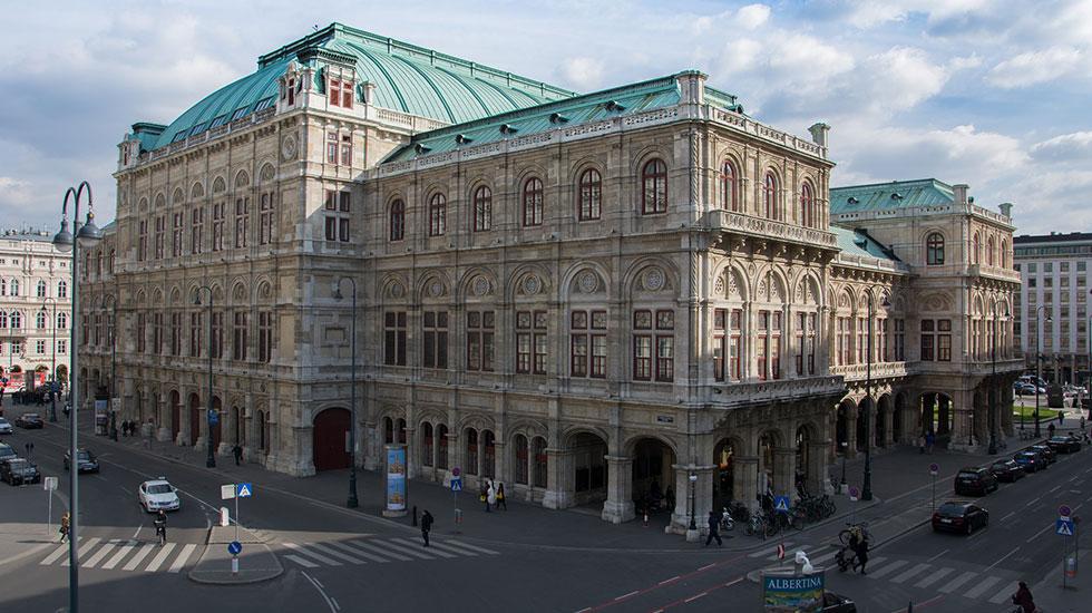Nhà hát Opera Vienna - Du lịch Áo