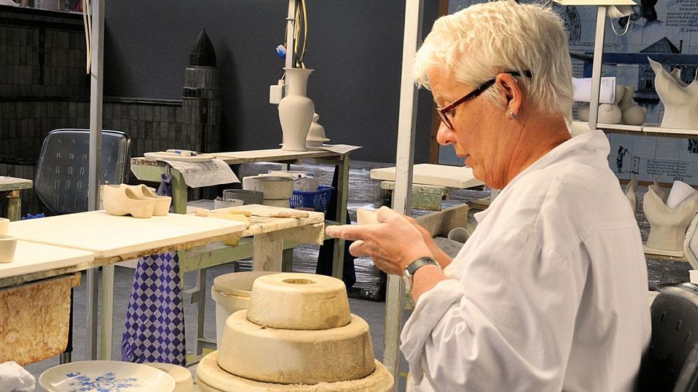Nhà máy làm đồ gốm Delft - Du lịch Hà Lan