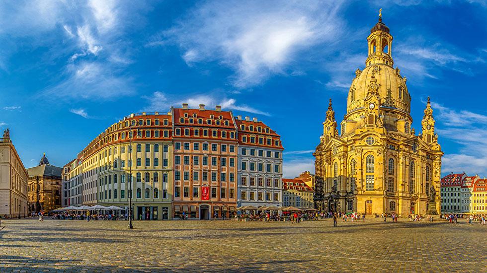 Nhà thờ Đức Bà Frauenkirche - Du lịch Đức