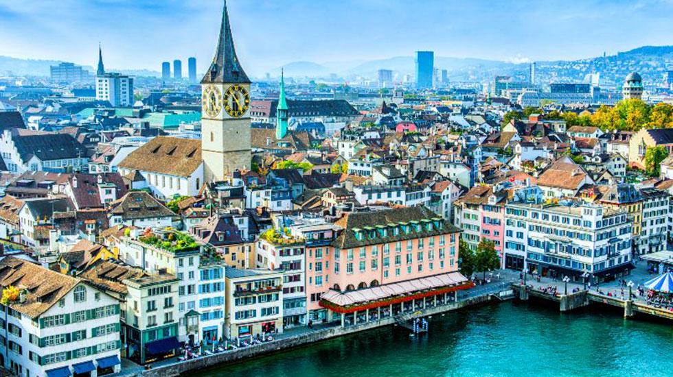 Nhà thờ Fraumünster - Du lịch Thụy Sĩ