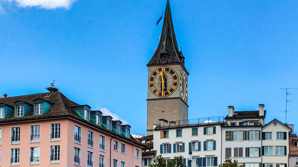 Nhà thờ St.Peter - Tham quan Thụy Sĩ