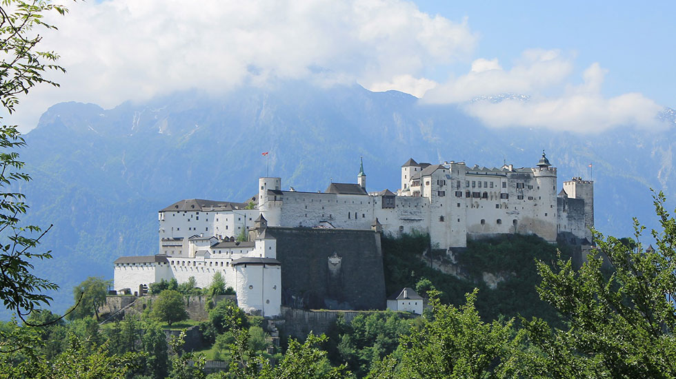 Pháo đài Salzbourg - Du lịch Áo
