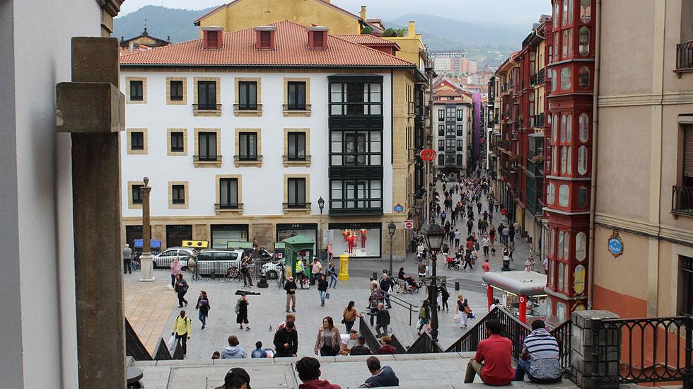 Phố-cổ-Bilbao - Tour Du Lịch Tây Ban Nha