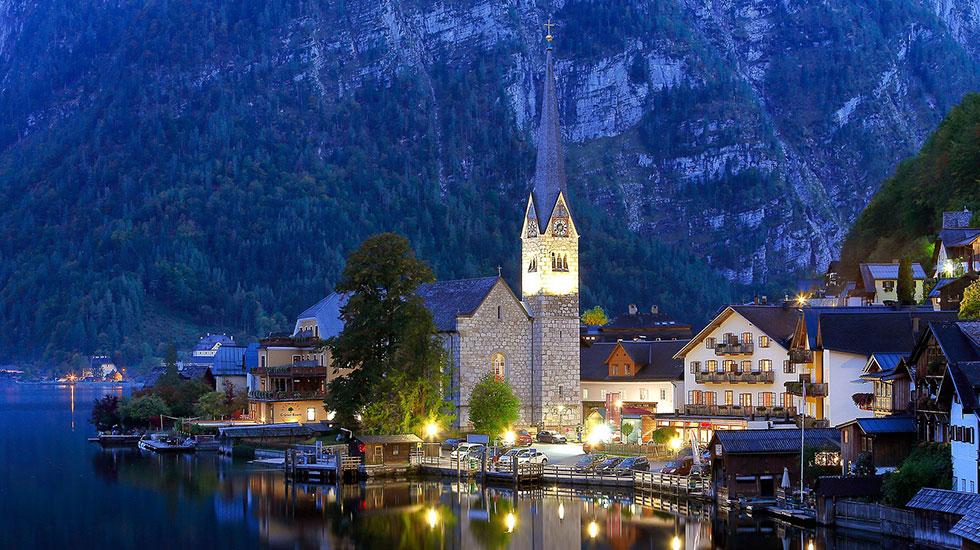 Phố cổ Hallstatt- Du lịch Áo