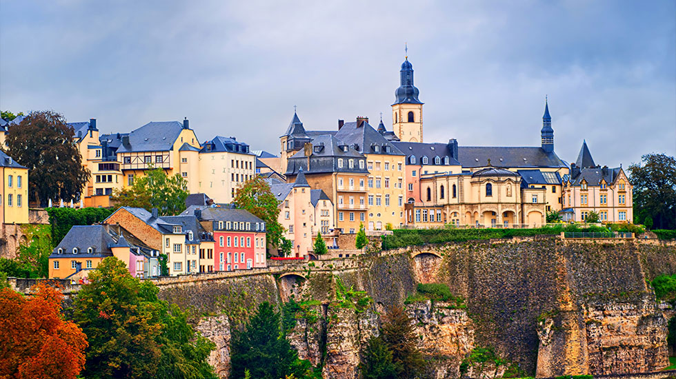 Phố cổ Luxembourg - Tour Du Lịch Luxembourg