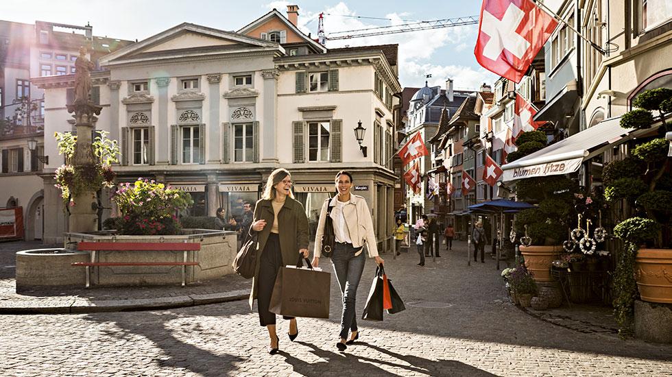 Phố cổ Zurich - Tour Thụy Sĩ giá rẻ