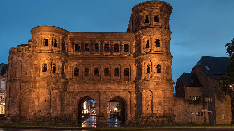 Porta Nigra- Du lịch Đức