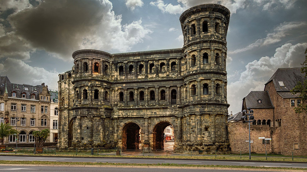 Porta Nigra - Du lịch Đức