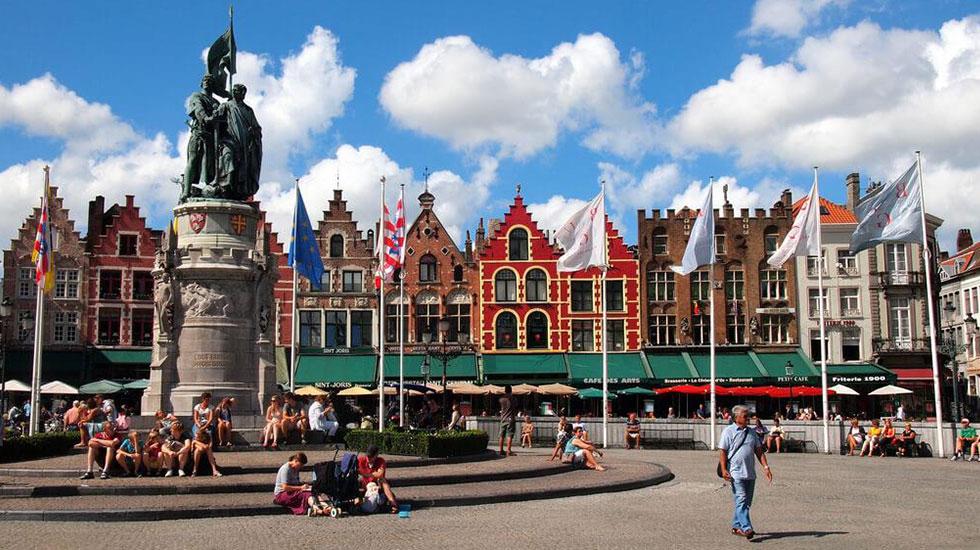 Quảng trường Brugge - Du lịch Bỉ