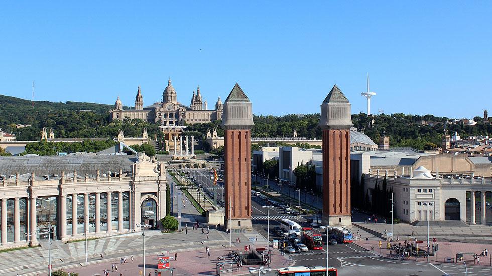 Quảng-trường-Catalunya-Barcelona - Tour Du Lịch Tây Ban Nha
