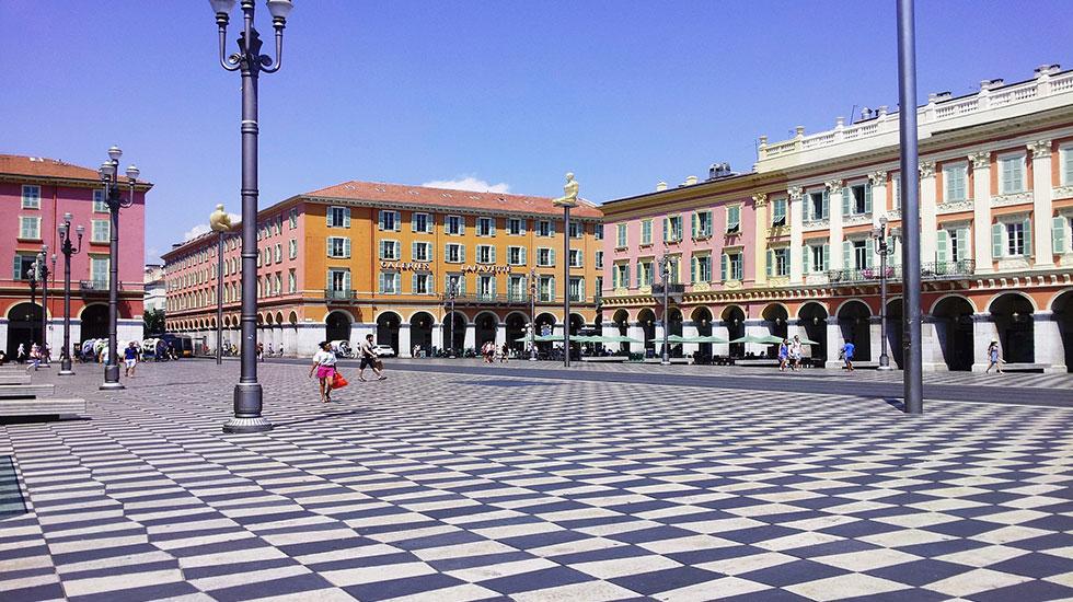 Quảng trường Massena Nice - Tour Du Lịch Pháp