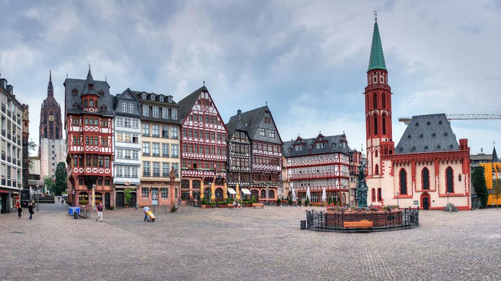 Quảng trường cổ Romerberg - Du lịch Đức