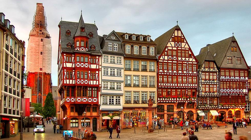 Quảng trường cổ Romerberg-Du lịch Đức