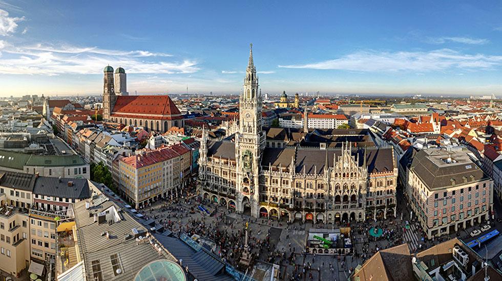 Quảngtrường Marielplatz - Du lịch Đức