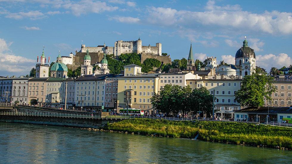 Salzbourg-Du lịch Áo