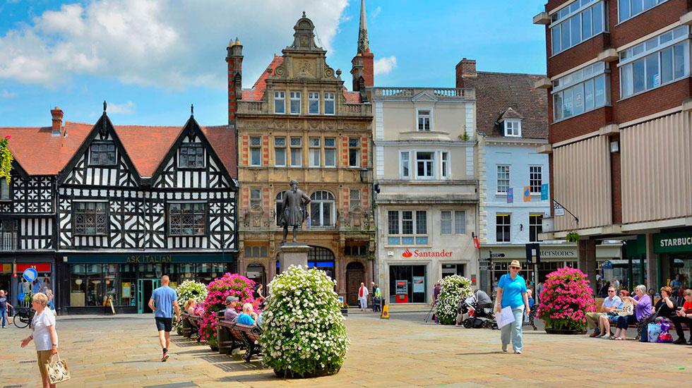 Shrewbury - Tour tham quan Anh