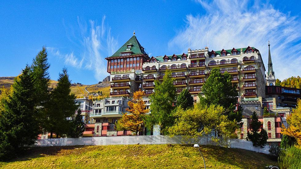 St.Moritz - Du lịch Thụy Sĩ