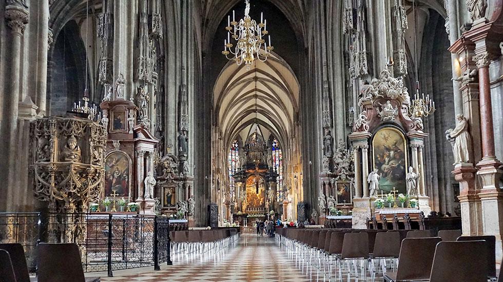 St.Stephan's Cathedral - Du lịch Áo (2)