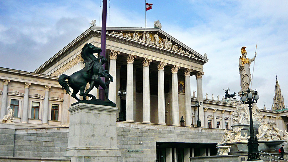 Tào nhà quốc hội Vienna - Du lịch Áo