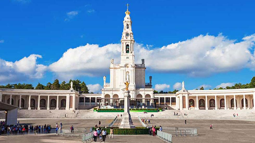 Thánh-Đường-Đức-Mẹ-Fatima - Tour Du Lịch Bồ Đào Nha