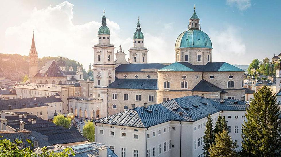 Thánh đường Salzbourg-Du lịch Áo