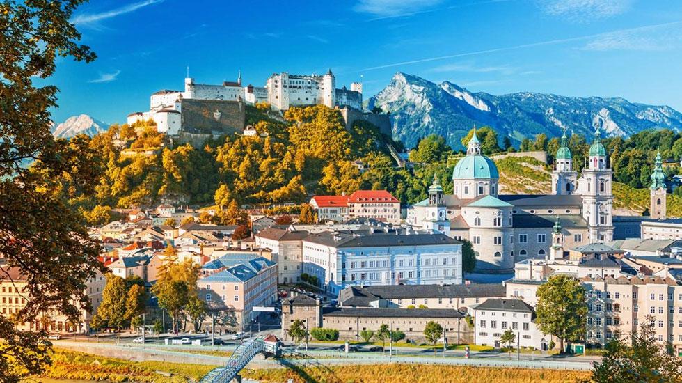 Thánh đường Salzbourg - Du lịch Thụy Sĩ