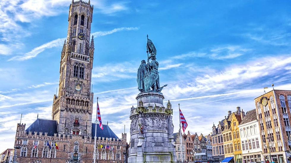 Tháp Belfry Tower - Du lịch Bỉ