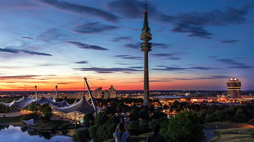 Tháp truyền hình Munich - Du lịch Đức