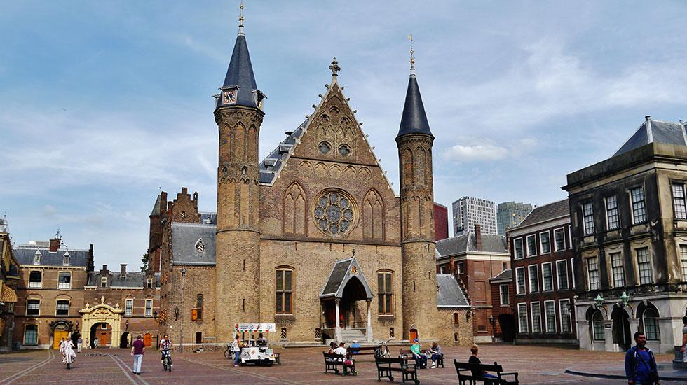 Toà nhà The Knight's Hall - Du lịch Hà Lan