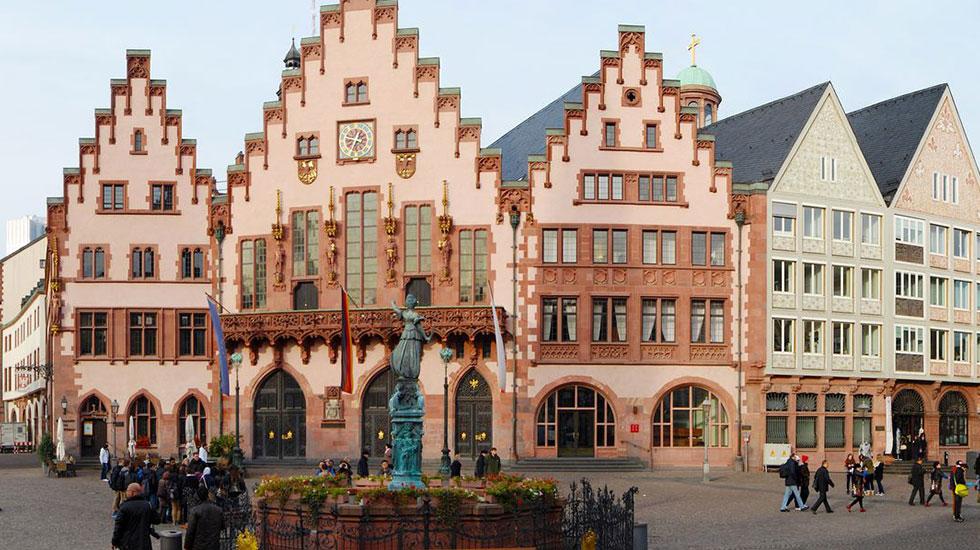 Tòa nhà thị chính cổ Römer - Du lịch Đức