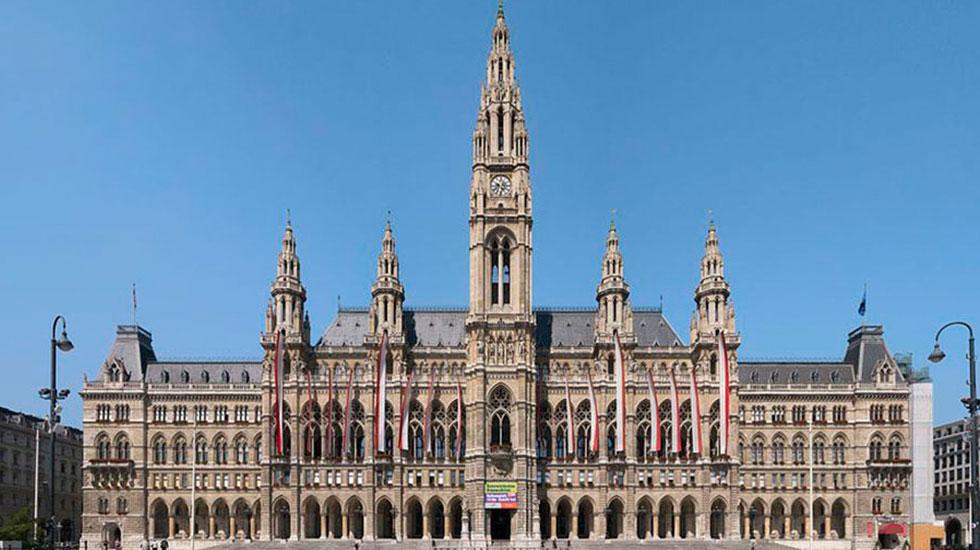 Tòa thị chính Vienna - Du lịch Áo