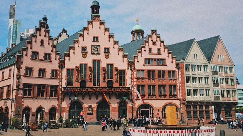 Tòa thị chính cổ Romer - Du lịch Đức