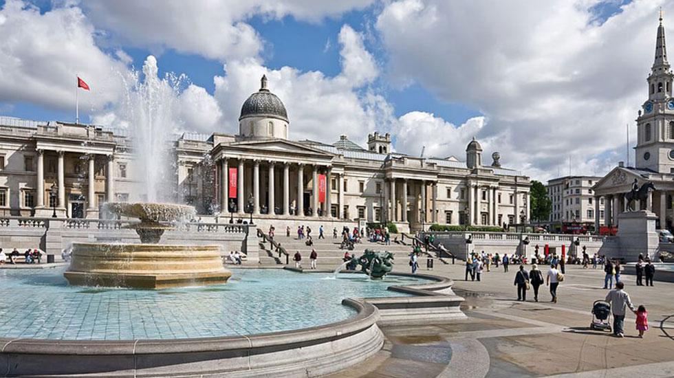Trafagal Square-Tour du lịch tham quan London