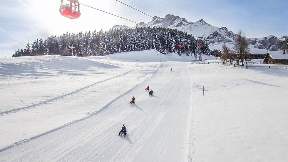 Trượt tuyết - Du lịch Thụy Sĩ