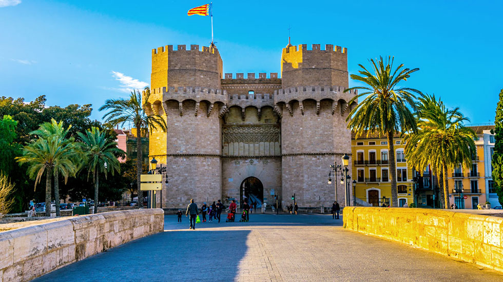 Valencia-torres-serrano - Tour Du Lịch Tây Ban Nha