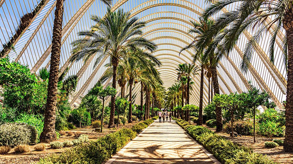 Vườn-nhiệt-đới-Valencia - Tour Du Lịch Tây Ban Nha