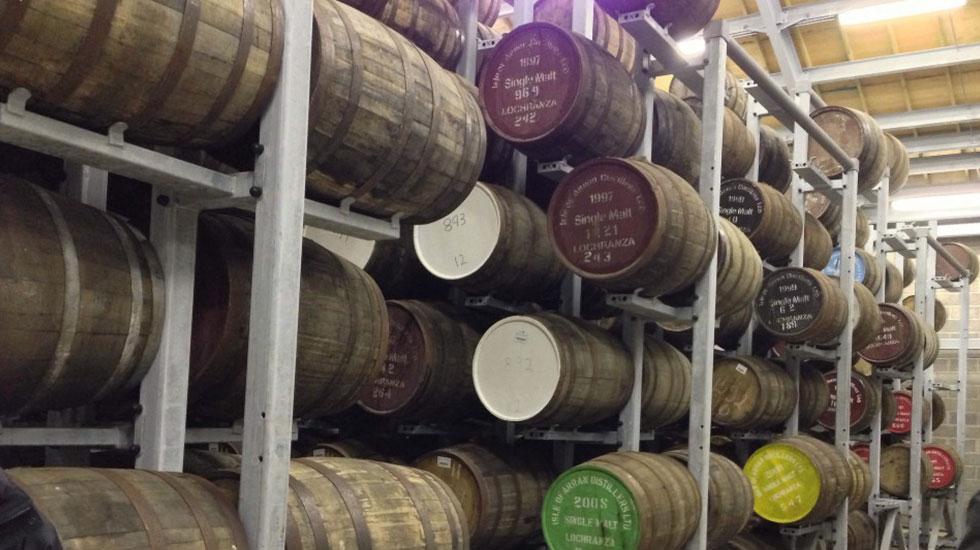 Xưởng sản xuất rượu Edinburgh - Du lịch ANh