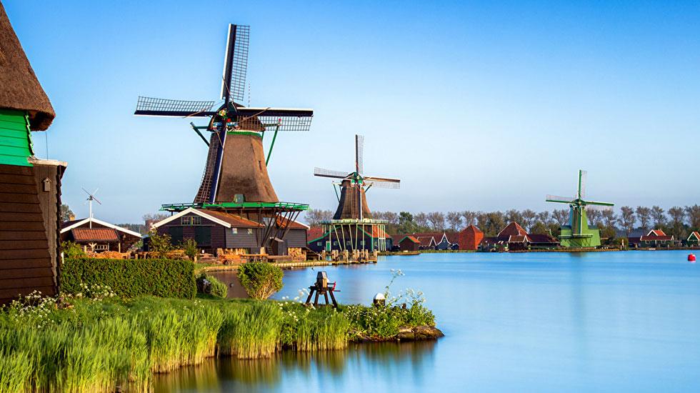 Zaans Schans - Du lịch Hà Lan giá rẻ