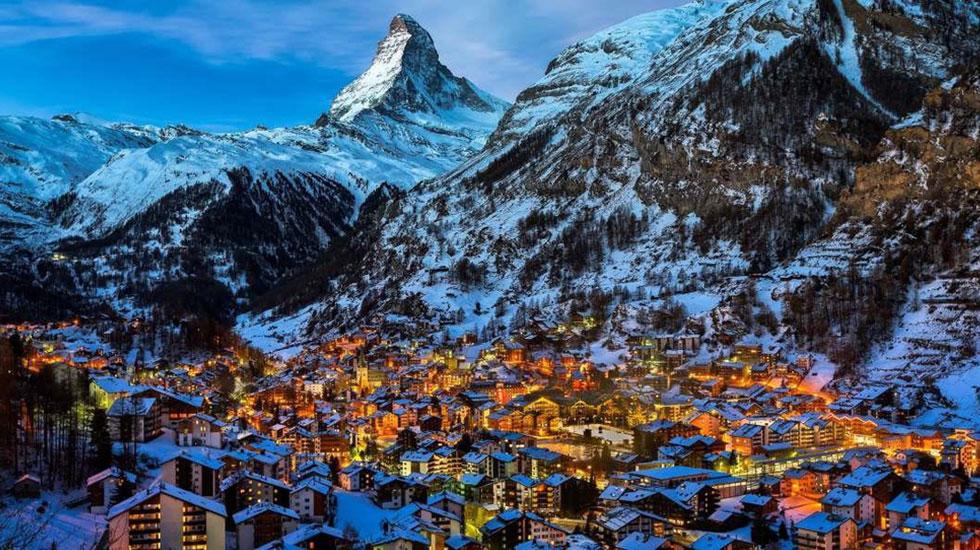 Zermatt - Du lịch Thụy Sĩ
