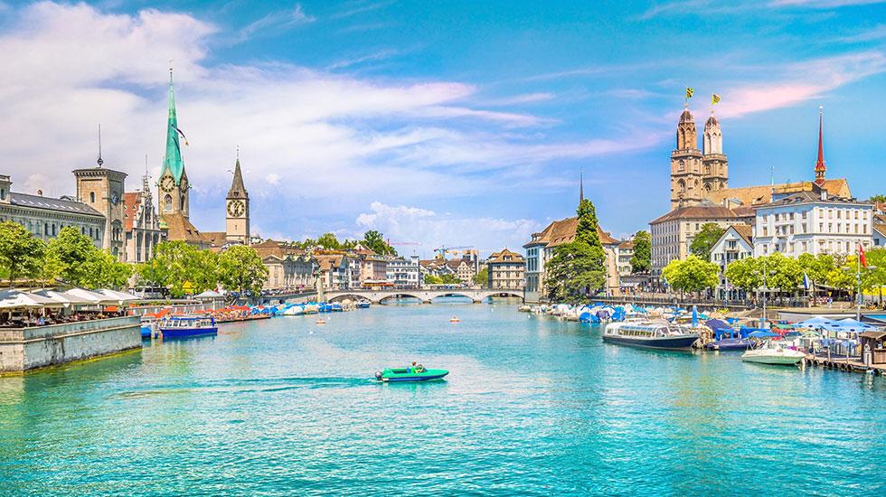 Zurich - Du lịch Thụy Sĩ