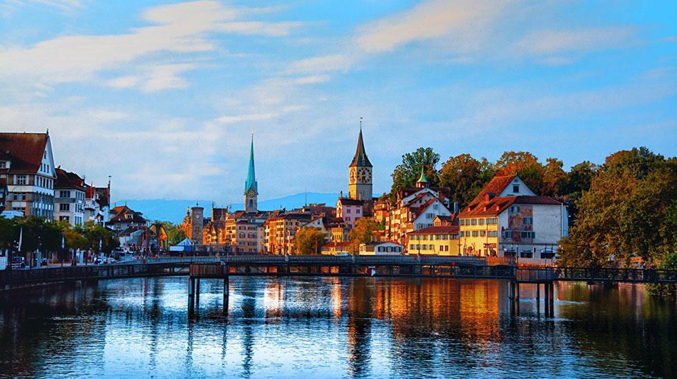 Zurich - Tour Thụy Sĩ giá rẻ